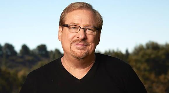Rick Warren apologises
