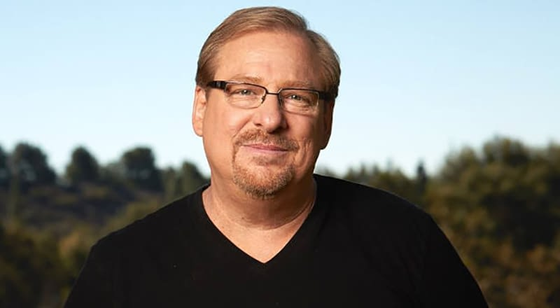 Rick Warren apologises